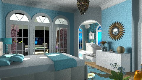 Masterly Bedroom - Modern - Bedroom - by Open Spaces