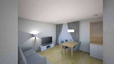 Swiatlo 2b - Living room - by KatarzynaLaszczyk