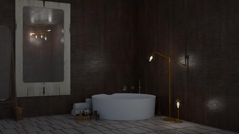 Kasshoku - Bathroom  - by Daewhi_Derp