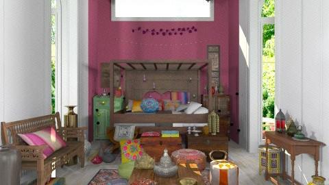 boho bedroom - Classic - Bedroom - by minervinoi