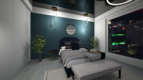 apartment bedroom - Glamour - Bedroom  - by mood_scorpio