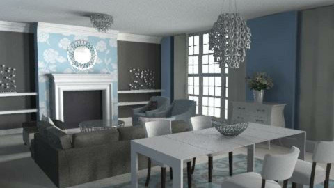 apartment II - Classic - Living room  - by Andrea_