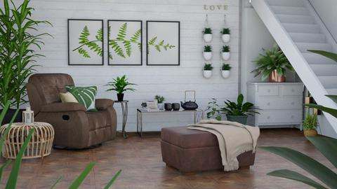 Indoor plant room - by ActressHannah