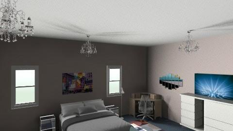 room my friend - Masculine - Bedroom - by jvfernadezd