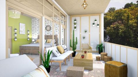 hotel room  - Modern - Bedroom  - by zayneb_17