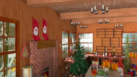 hurry santa - Classic - by janetski2