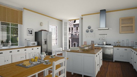 100 - Country - Kitchen  - by GALE88