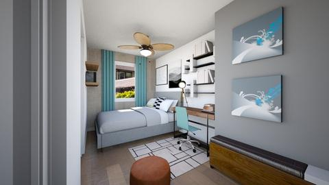Isaacs Room - Bedroom  - by louisdhe