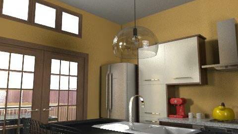 Kitchen - Country - Kitchen  - by drummerx33grl17