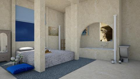 Modern Greek Bedroom - Bedroom  - by Chayjerad