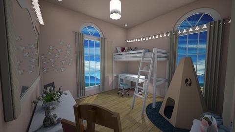 Bedroom 3 - Kids room - by juliarenee
