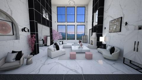 Glitzy Pink Gin Room - by hmm22