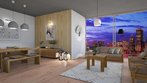 japandi - Living room  - by snjeskasmjeska
