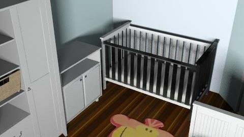 ET new room fin - Modern - Kids room  - by Mark Titley