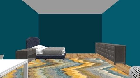 dorm room project - Bedroom  - by hiimkai