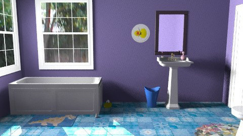 Family Bathroom - Minimal - Bathroom  - by TheAlgonaGirl