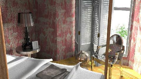 Eclectic Pink 3 - Eclectic - Bedroom - by DearDesigner