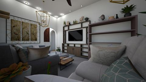 HallView3 - Living room  - by Kat998