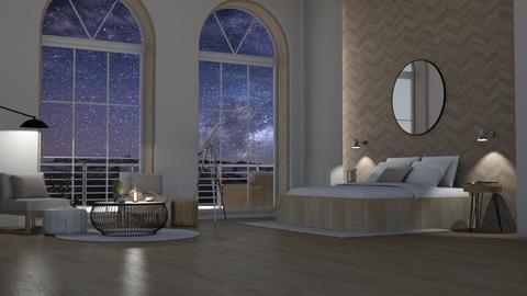 NIghtime Bedroom - by Fatbaabaa