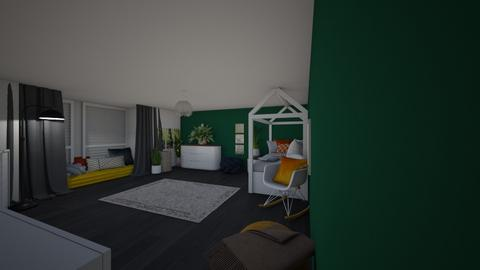 design - Modern - Bedroom  - by ytrachel0