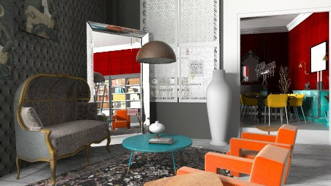 Yoo Inspired - Eclectic - Living room  - by giulygi