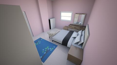 Master Bedroom V3 - Modern - Bedroom  - by Sparkbleh