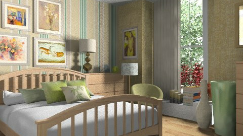 greenwood bedroom - Country - Bedroom  - by KittiFarkas