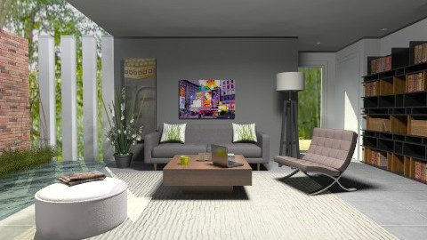 Vigorous - Modern - Living room  - by nikanarbut