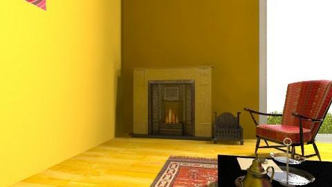 MagentaGold - Global - Living room - by Samdeco77