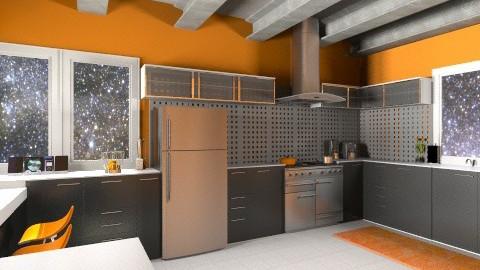 Futuristic Kitchen - Modern - Kitchen  - by allilaz