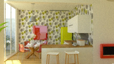 New house plan Dining - Modern - by ovchicha