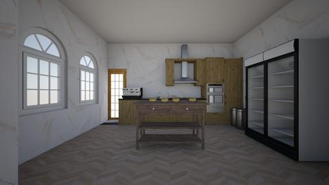 cozinha de chefe - Modern - Kitchen - by FranKi1902