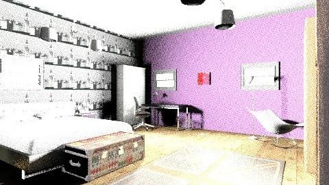 debbie - Minimal - Bedroom - by despoinaa