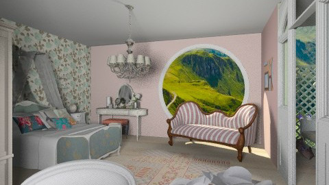 Dream of Spring - Vintage - Bedroom  - by beabiabolhas