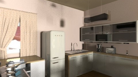 new kitchen  - Glamour - Kitchen  - by ivka3131
