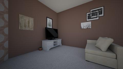 Molly's Bedroom - Bedroom - by Molly Schmitt