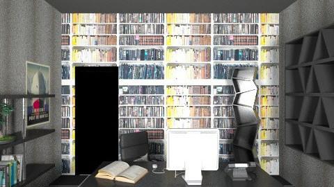 Modern Office 3 - Retro - Office - by tillsa98