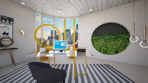 Modern Playful Office - Modern - Office - by timeandplace