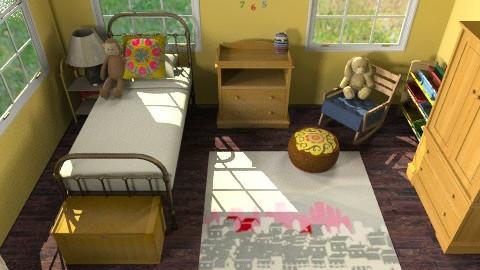 Brooklyn Brownstone Nursery - Eclectic - Kids room  - by lauren_murphy
