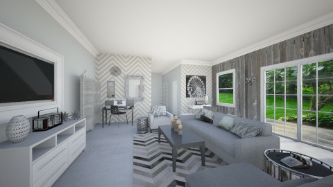 gray matter - Living room  - by kelleyjustine