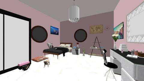 Fancy bedroom - Glamour - Bedroom - by paulinei