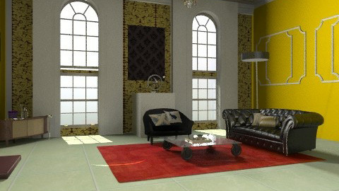 Architecture - Glamour - Living room  - by PennyDreadful