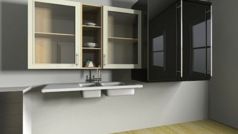 velika soba - Classic - Kitchen  - by viceru