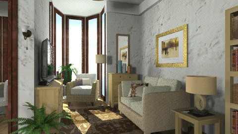 Pacific - Classic - Living room  - by milyca8
