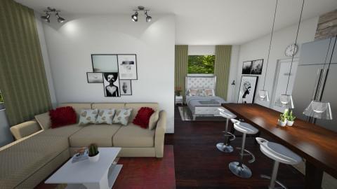 Studio Apartment - Classic - by Kelli Mallory