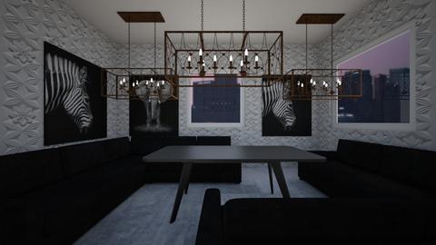 symmetrical - Living room  - by zoesobeldrum01