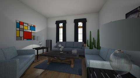 Symmetrical - Living room  - by B542915
