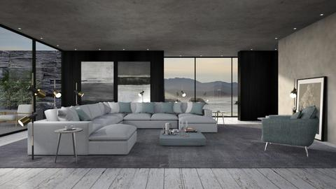 438 - Minimal - Living room  - by Claudia Correia