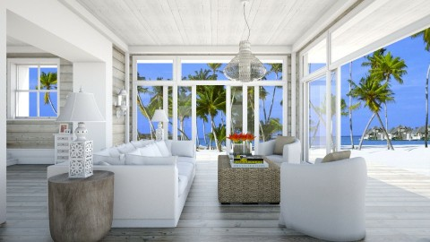 In the island - Living room - by _Taz_