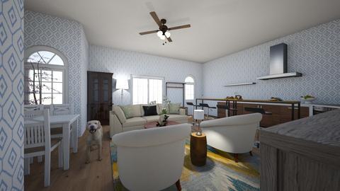 Open Concept Kitchen - Kitchen  - by RoomDesigner2000